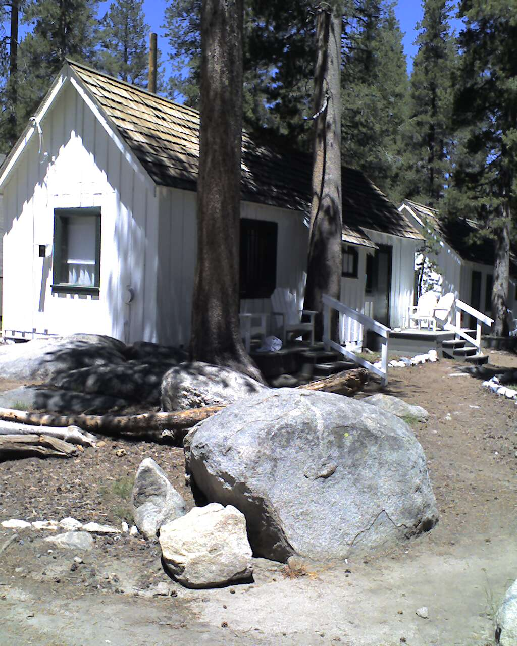 Hawksbill cabin yosemite 39 s white wolf campground for Yosemite park camping cabins