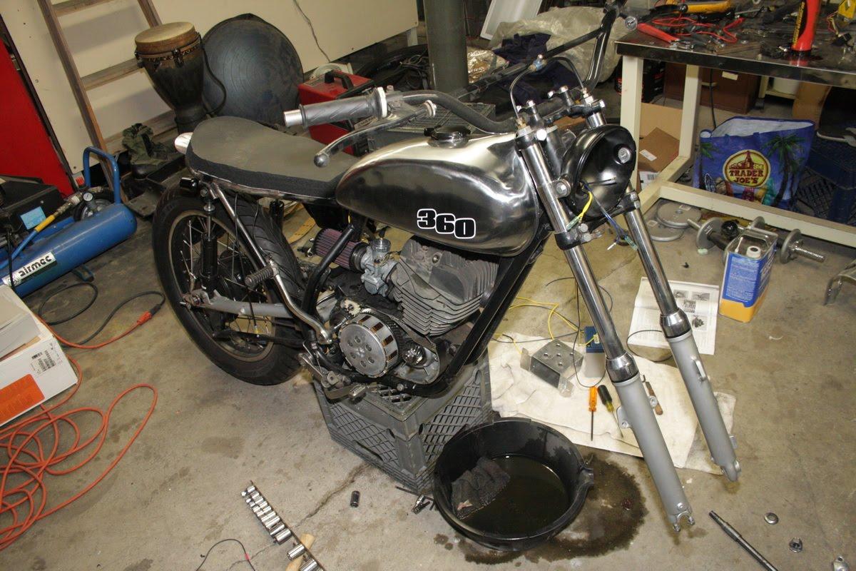 Suzuki VX800 Restoration Project: August 2010