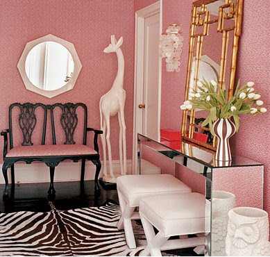 Is Hollywood Regency Decor Over? - Over The Hill and On A Roll