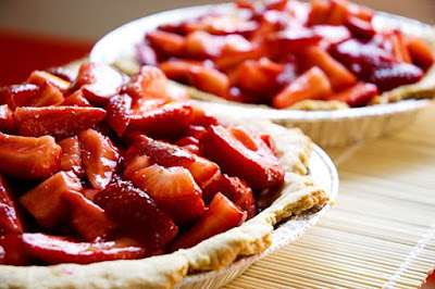 Fresh Strawberry Pie With Orange Liqueur Glaze Recipes — Dishmaps