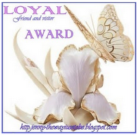 Loyal Friend and Visitor Award