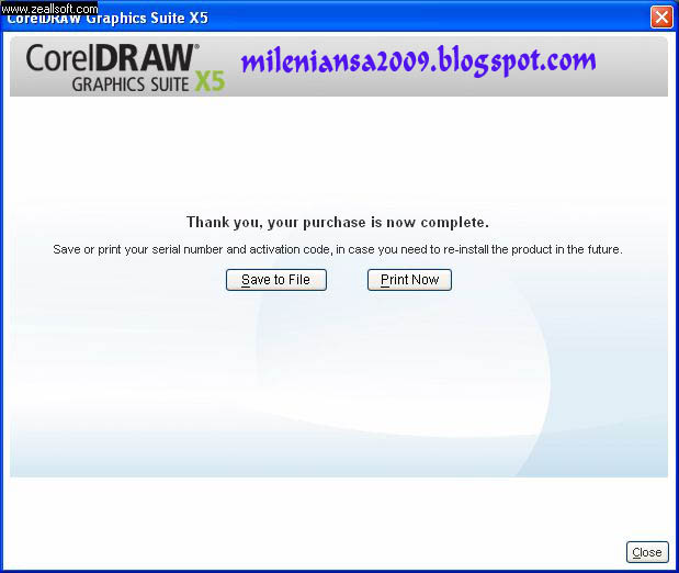 corel draw x5 serial number invalid