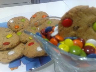 Cookies Thermomix con lacasitos