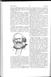 Marx article from New British Encyclopedia from 1933