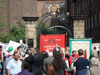 Speeches at Derby Silk Workers Procession 28 April 2007