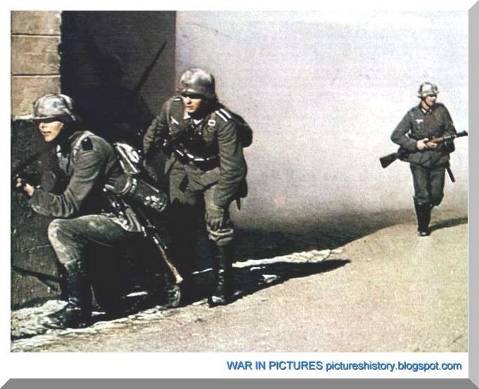 German soldiers during second world war rare pictures