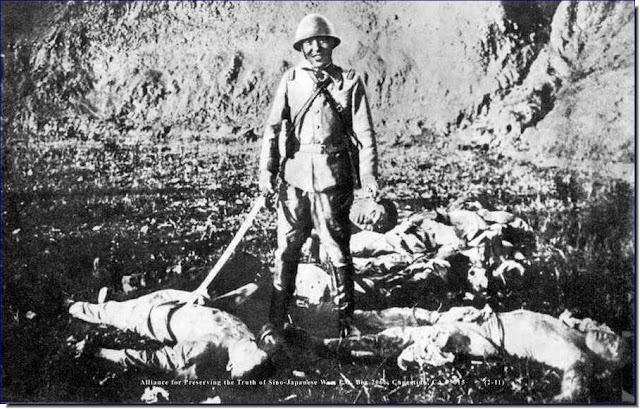 japanese soldier smiles kills heartless