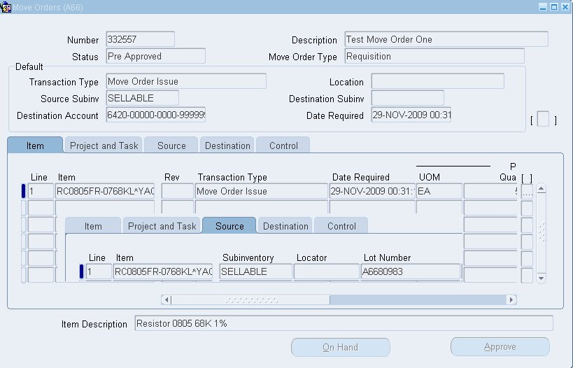 Creating Move Order Using INV_MOVE_ORDER_PUB - Oracle ERP Apps Guide