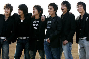 The Six Men In my Life - SHINHWA: October 2007
