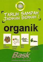 Stiker Sampah Organik