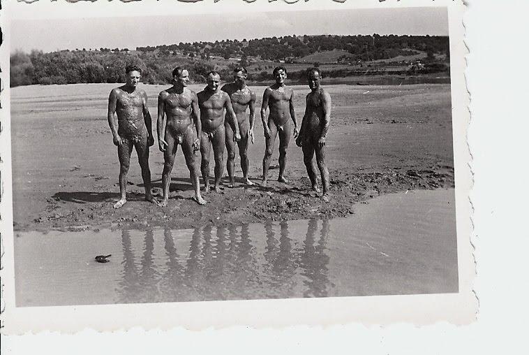 Vintage Nude Soldiers Wwii