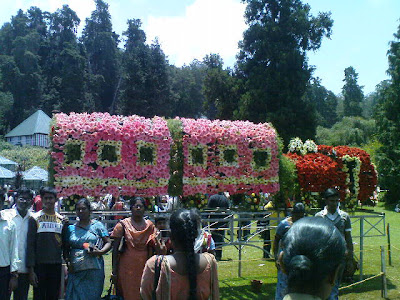 Ooty flower show-train