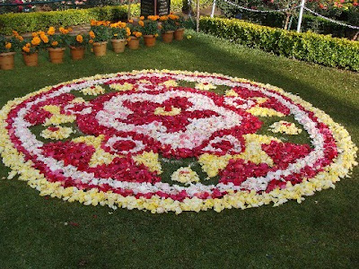 Rose show at Ooty