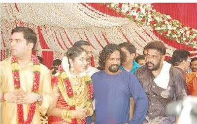Navya Nair's marriage stills