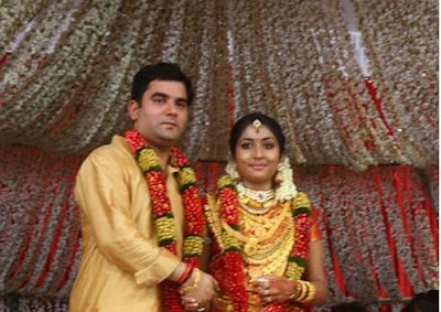 Navya Nair's marriage stills
