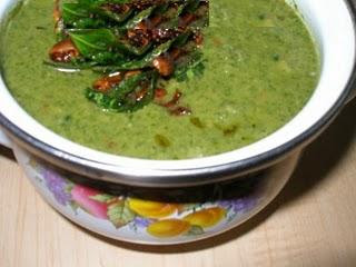 Recipe Palak Mashiyal