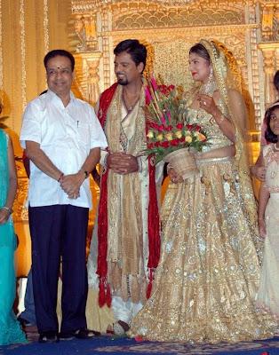 Tamil actress Rambna reception photos