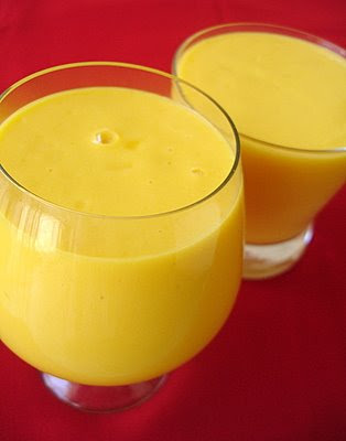 Preparation of Mango Milk Shake