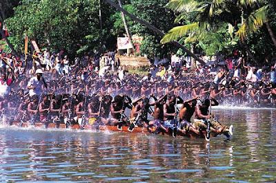 Snake Boat Race in Alappuzha