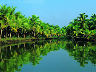 Astamudi lake, Kerala