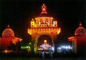 Dharmastala,Laksha Deep Utsava