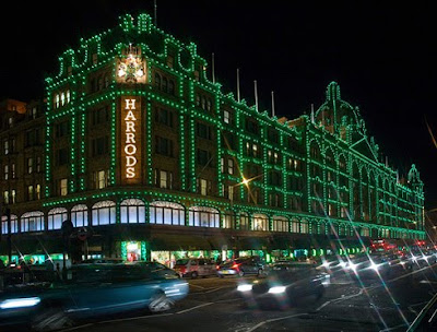 Harrods Departmental Store London