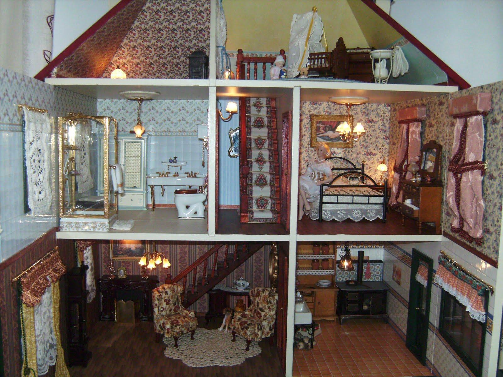 Mi mundo en miniatura mi primera casita de mu ecas - Mi casa no es de munecas ...