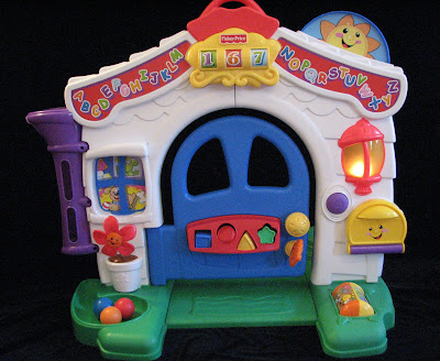 Fisher price laugh and learn playhouse replacement parts