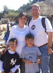 Clay and Erin and the boys in Zambia in 2009