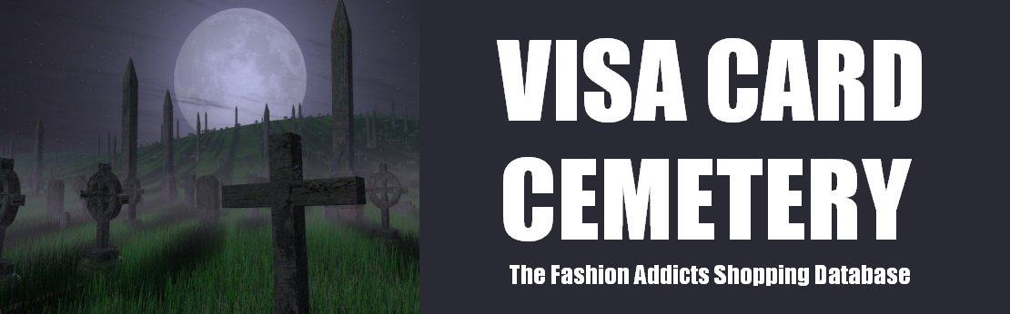 Visa Card Cimetery