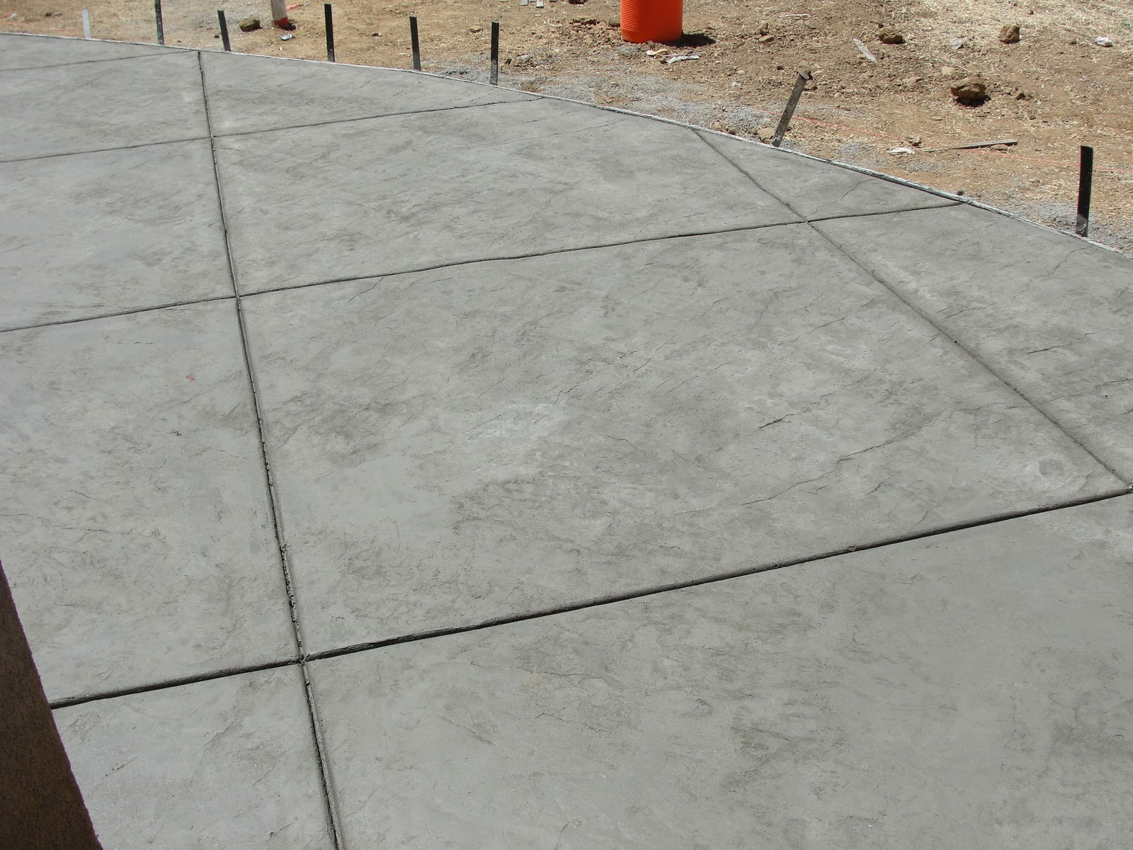 Stamped Concrete Expansion Joints : Tomorrow today w december