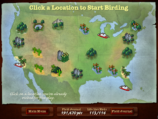 Different type of bird watching locations