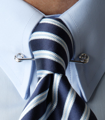 The penniless connoisseur style guide for men pc for Tie bar collar shirt