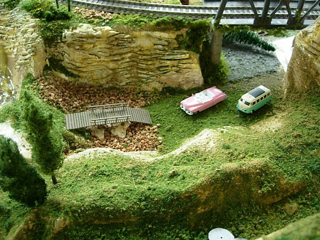 Model Railroad Scenery