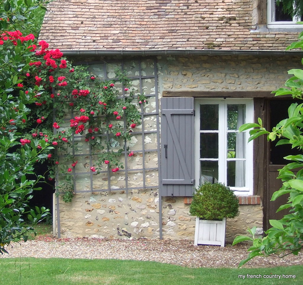 My French Country Home New Shutter Colour I Listened To You