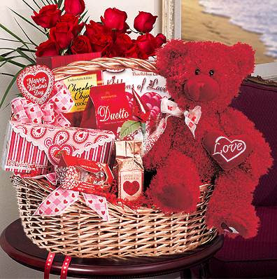 Valentines Gifts on Valentine Gift Baskets For Your Love