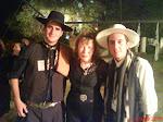 Con Cristian Mendez y Suma Paz
