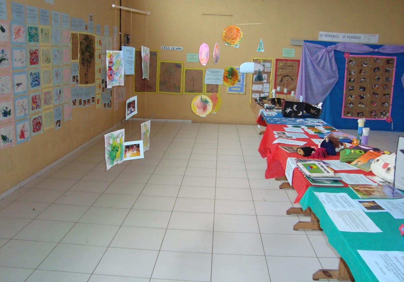 Preferência Educação Infantil Um mundo a descobrir: Exposição pedagógica das  AM07