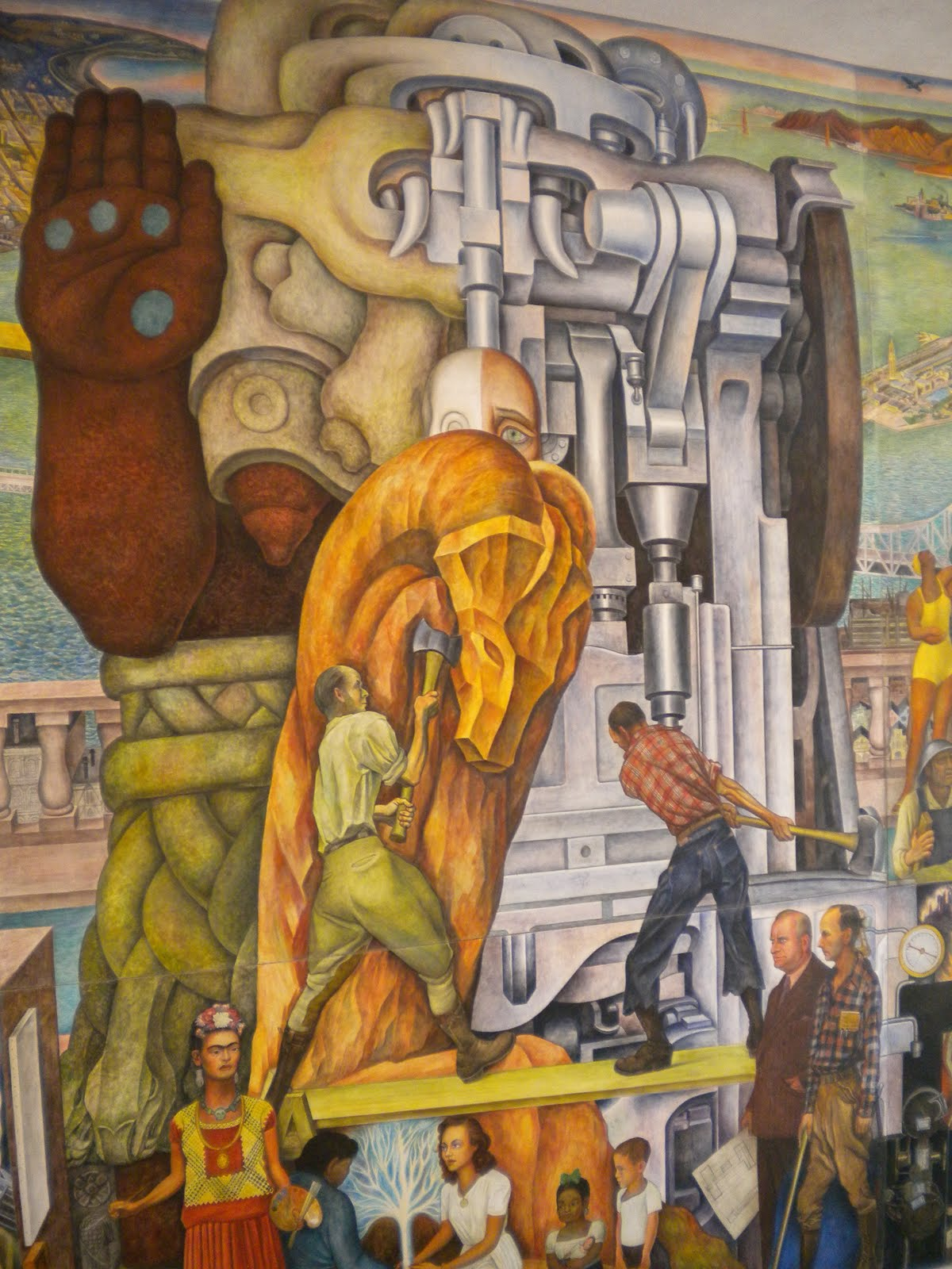 Murals diego rivera san francisco usa art for Diego rivera san francisco mural