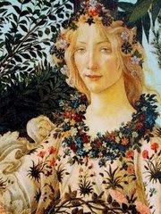 the nine roman deities portrayed in the renaissance painting primavera by sandro botticelli Sandro botticelli: the renaissance artist brightly represented in the paintings of sandro botticelli roman goddess of love and beauty.