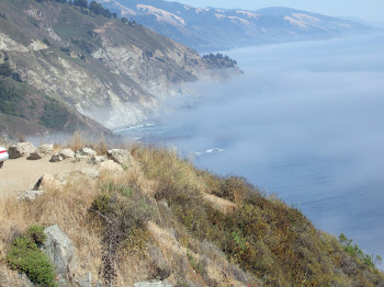 Big Sur - more cliffs and fog