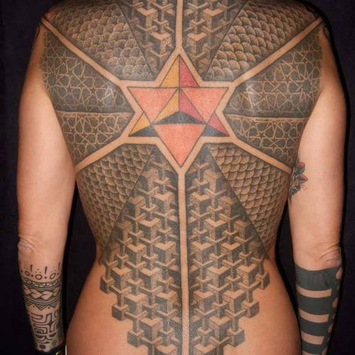 Most ancient Maori tattoo