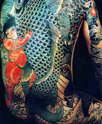 Special design for japanese tattoo koi fish tattoo