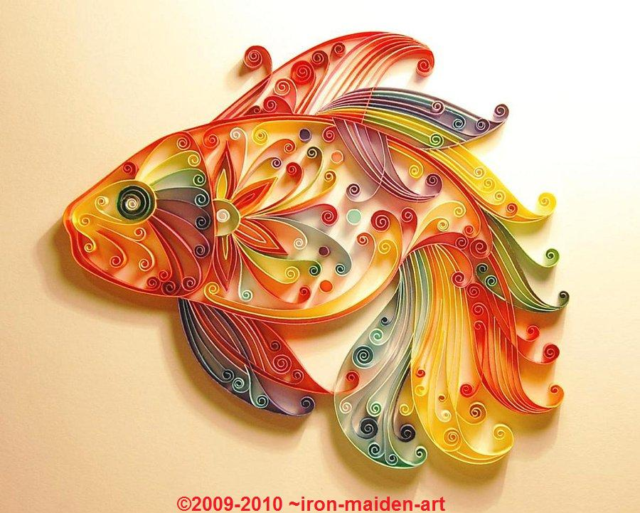 Scribbles quilling art for Paper quilling art projects
