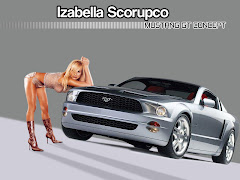 Mustang With Girl