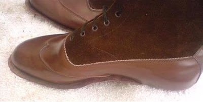 Handmade boots from Cliff