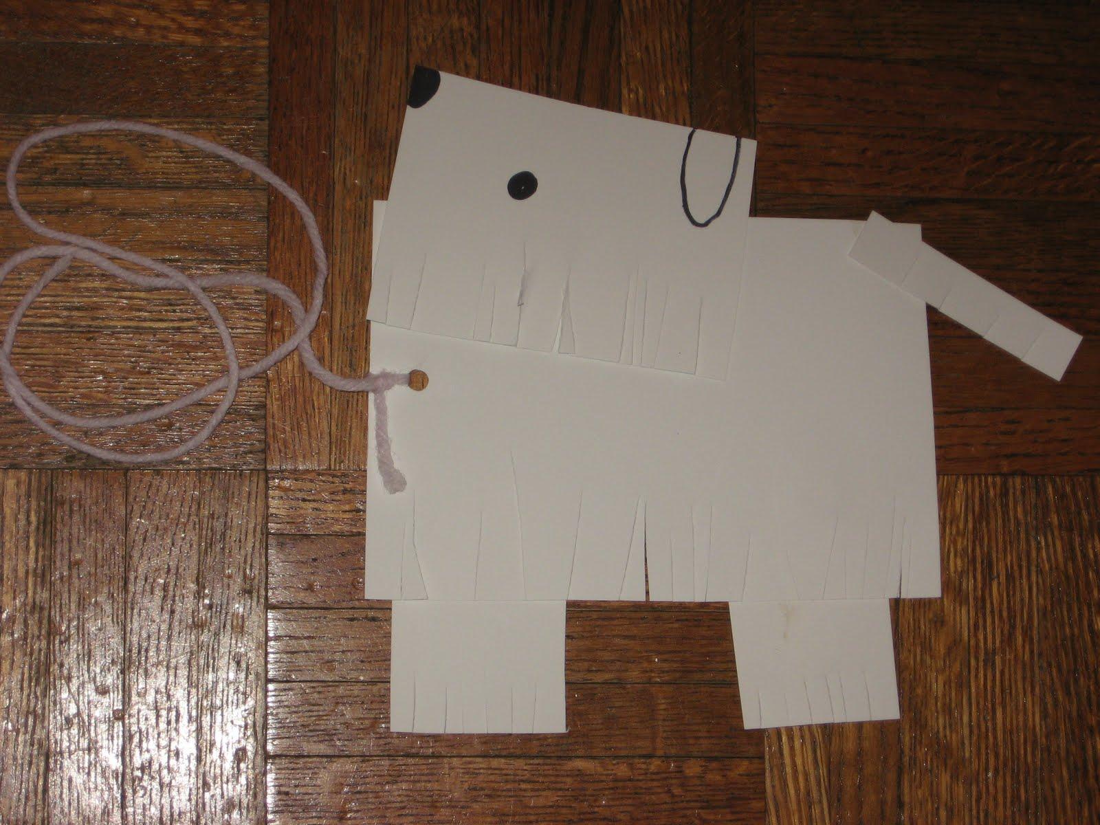 Preschool learning ideas shaggy dog craft project for Dog craft ideas