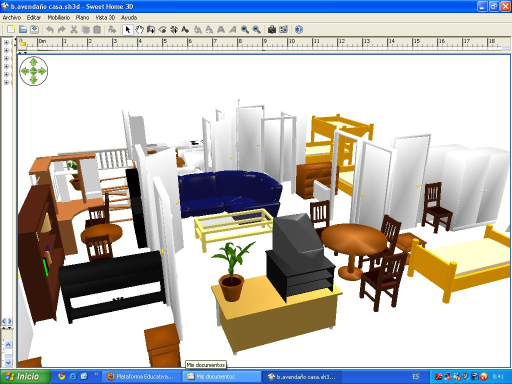 Color technology sweet home 3d for Programa para decorar interiores
