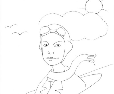 Gyro Jane cruising through the sky