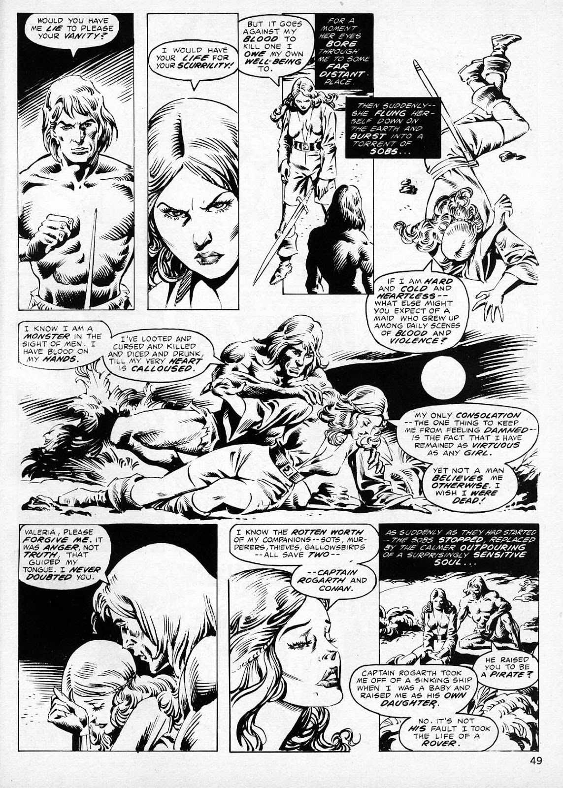 The Savage Sword Of Conan Issue #77 #78 - English 48